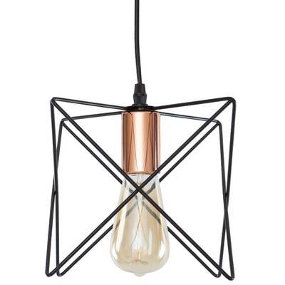 Carlotta 1-Light Geometric Pendant
