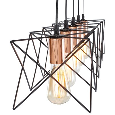 Carlotta 5-Light LED Kitchen Island Pendant