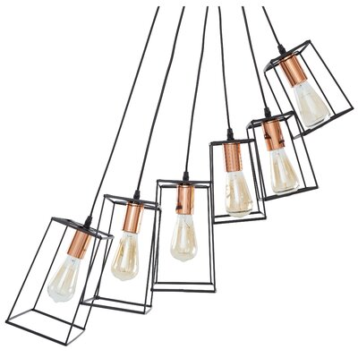 Vulpecula 6-Light Cluster Pendant