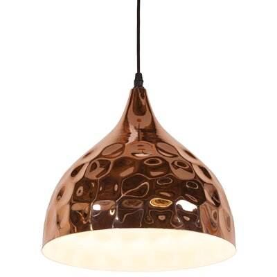 Metzler 1-Light Bowl Pendant