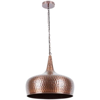 Fegan 1-Light Mini Pendant Shade Color: Bronze