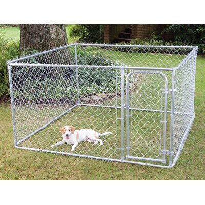 Do-It-Yourself Galvanized Steel Yard Kennel