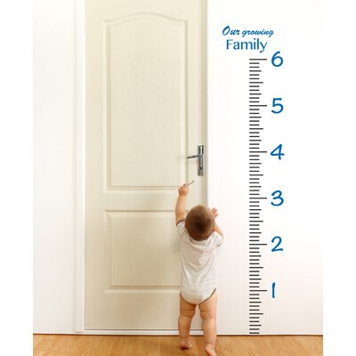 Giant Ruler Growth Chart Wall Decal 1922-WALL-01-02