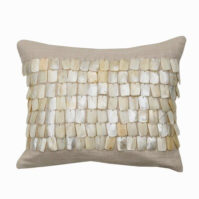 Catherine Malandrino Locks Cotton Lumbar Pillow