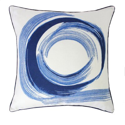 Tempo Throw Pillow Color: Indigo 496T2SQPIND