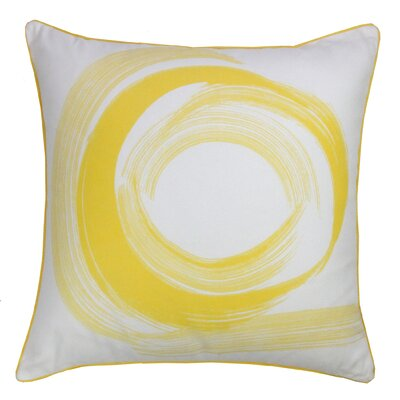 Tempo Throw Pillow Color: Yellow