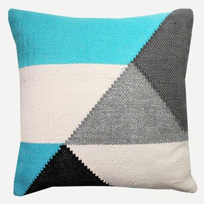 Vespa Decorative Cotton Throw Pillow Color: Blue