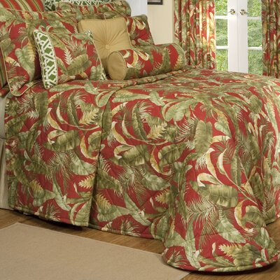 Captiva Bedspread Size: Queen