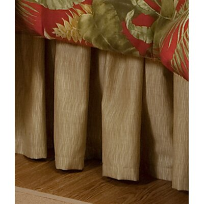 Captiva 15 Drop Bed Skirt Size: Twin
