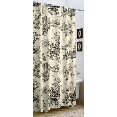 Bouvier Cotton Shower Curtain