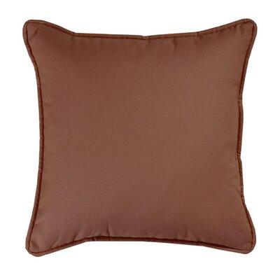 Brunswick Throw Pillow Color: Brown