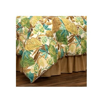 Brunswick Drop Dust Ruffle Bed Skirt Size: California King, Drop Height: 15 H