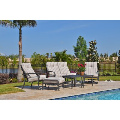 Terrabay 6 Piece Deep Seating Group with Cushions