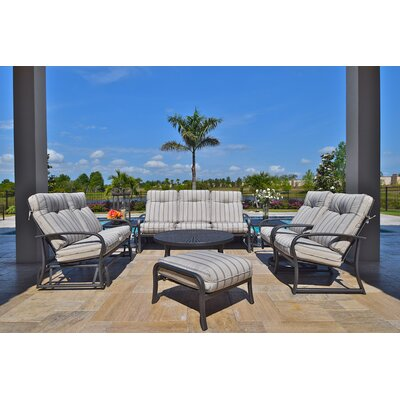 Terrabay 8 Piece Deep Seating Group with Cushions