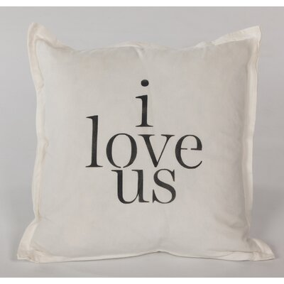 I Love Us Throw Pillow