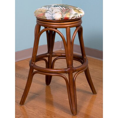 Universal 30 Swivel Bar Stool Finish: Sienna, Seat Color: Kali Olive