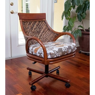 Bermuda Arm Chair Color: Kali Olive