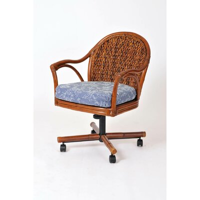 Panama Arm Chair Finish: Sienna/Dum Dum Spa