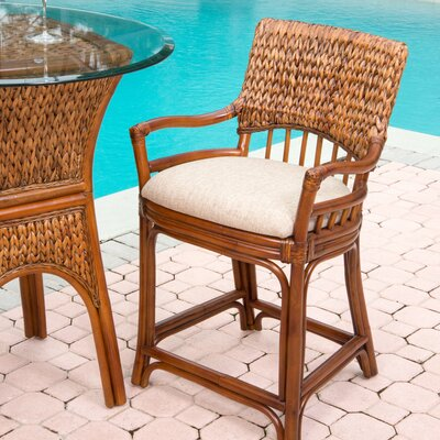 Key Largo 24 Bar Stool Finish: Sienna