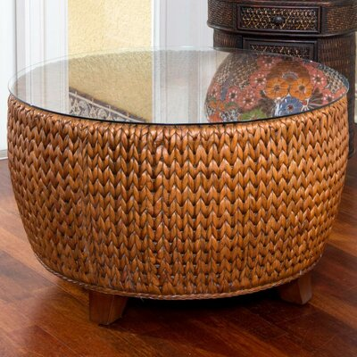 Key Largo Coffee Table Base Color: Sienna