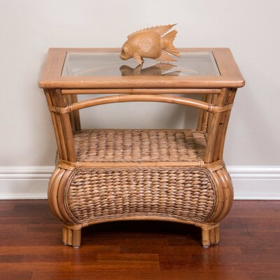 Brisa End Table Color: Antique Honey
