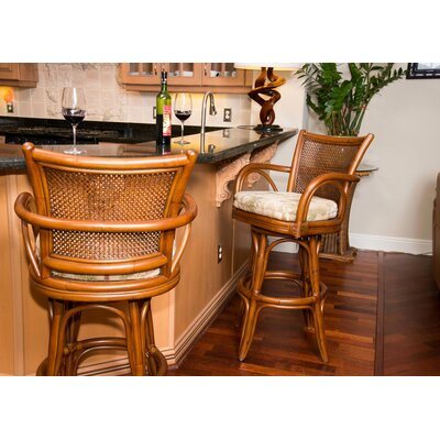 Teodora Coastal 30 Swivel Bar Stool