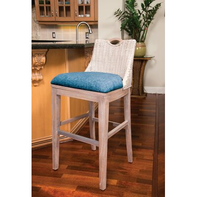 Belize 30 Bar Stool Finish: Rustic Driftwood