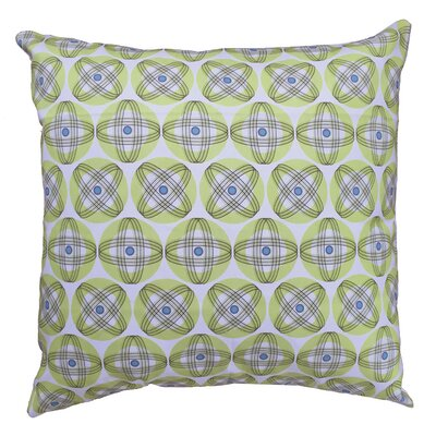 Orbit Throw Pillow Size: 19.5 H x 19.5 W