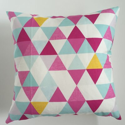 Triangle Throw Pillow Size: 17.5 H x 17.5 W