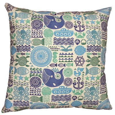 Under the Sea Throw Pillow Size: 19.5 H x 19.5 W