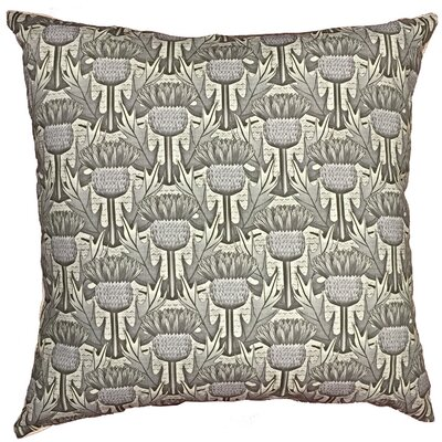 Thistle Throw Pillow Size: 17.5 H x 17.5 W