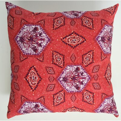 African Intense Throw Pillow Size: 17.5 H x 17.5 W