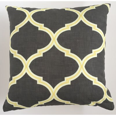 Trellis Throw Pillow Size: 19.5 H x 19.5 W