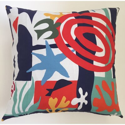 Matisse Throw Pillow Size: 17.5 H x 17.5 W