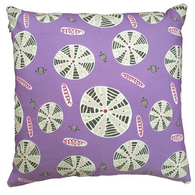 Urchin Throw Pillow Size: 17.5 H x 17.5 W