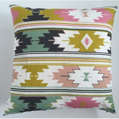 Sunflower Kilim Throw Pillow Size: 17.5 H x 17.5 W, Color: Sunflower