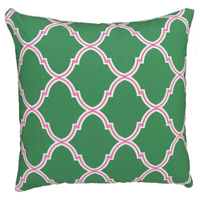Trellis Throw Pillow Size: 17.5 H x 17.5 W