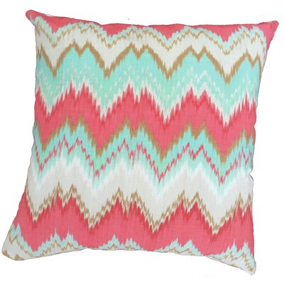 Chevron Throw Pillow Size: 17.5 H x 17.5 W