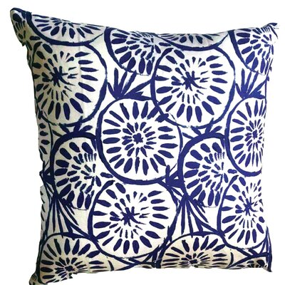 Medallion Throw Pillow Size: 17.5 H x 17.5 W