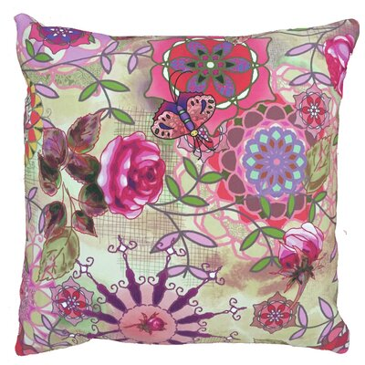Fantasy Throw Pillow Size: 17.5 H x 17.5 W