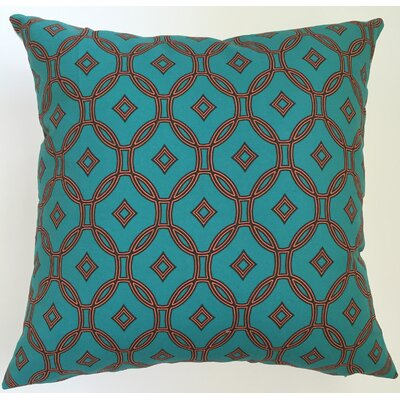 Garden Lattice Throw Pillow Size: 19.5 H x 19.5 W
