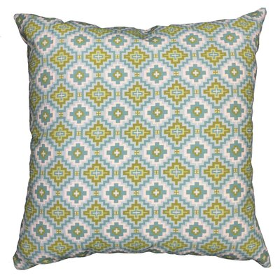 Garden Kilim Throw Pillow Size: 17.5 H x 17.5 W