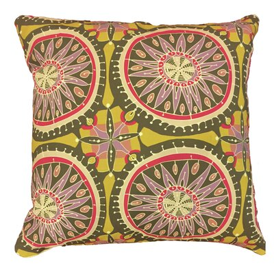 Morocco Mandala Throw Pillow Size: 17.5 H x 17.5 W