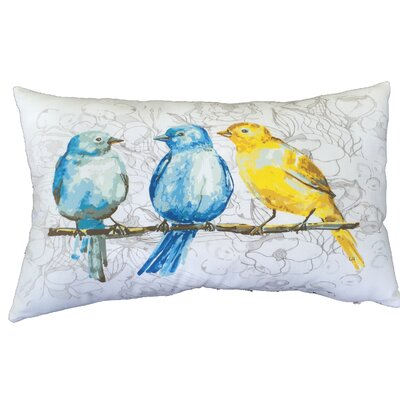 Bird Lumbar Pillow