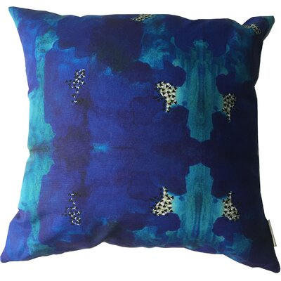 Abstract Throw Pillow Size: 17.5 H x 17.5 W