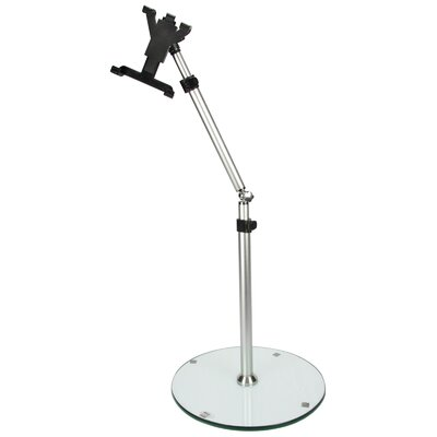 MegaMounts Heigh/Angle Adjustable Tablet Floor Stand for 7-12 Inch Tablets