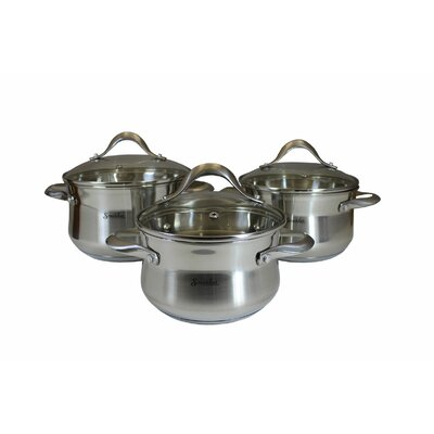6-Piece Stainless Steel Cookware Set 110007_WY