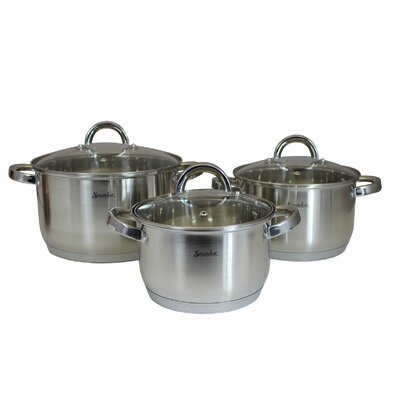 6-Piece Stainless Steel Cookware Set 110016_WY