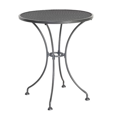 Small Bistro Table Finish: Black