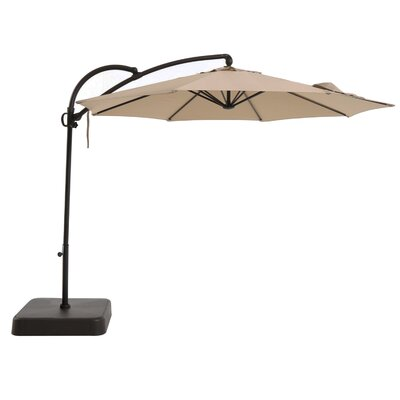 10 Emery Outdoor Hanging Offset Cantilever Umbrella
